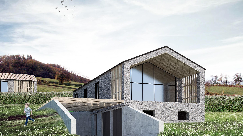 Proposte progettuali di Ville panoramiche a Langhirano